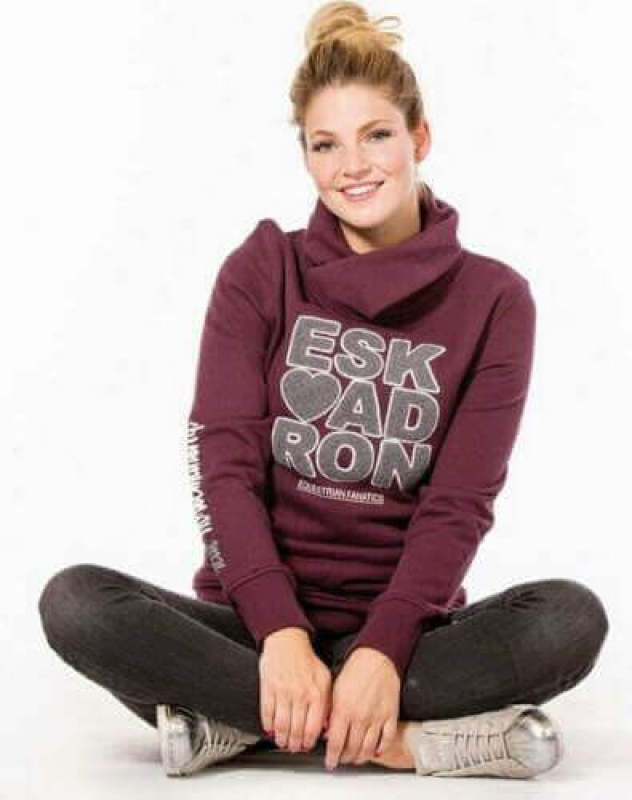 Eskadron Fanatics Damen Sweater DONNA blackberry